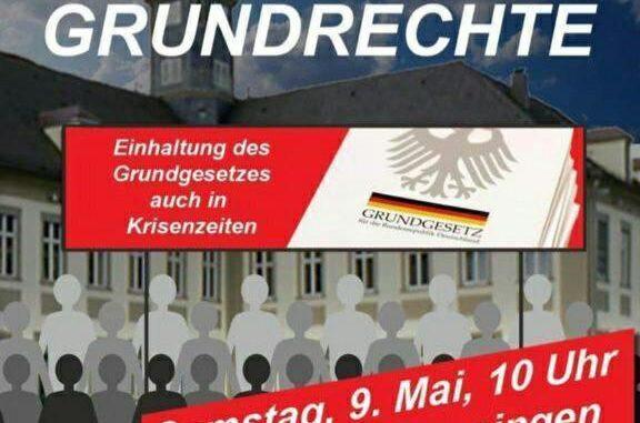 Opstand tegen lock down in Duitsland met tientallen demo's op zaterdag