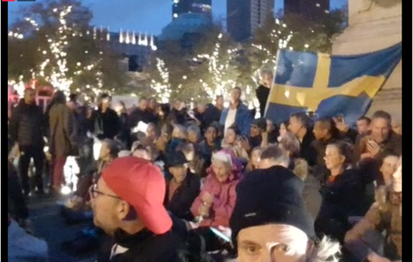 Vrijheidsdemonstraties slaan nieuwe weg in tijdens derde Pleindemo