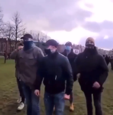 Geheime politie van Rutte weer actief in Amsterdam